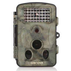 Crenova 12MP 1080P HD Wildkamera Test 120° Nachtsicht LCD Jagdkamera Überwachungskamera