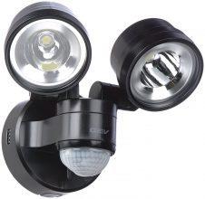 GEV LED Strahler EEK A 230 Volt Bewegungsmelder LED