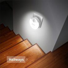 LED-Nachtlicht, TeckNet LED Wandleuchten Für Steckdose, Dämmerungssensor und Bewegungsmelder