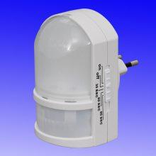 LED Nachtlicht mit Bewegungsmelder Steckdose - Sicherheitslicht mit Automatikfunktion