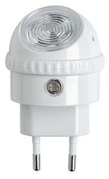 OSRAM LUNETTA LED Steckdosenlicht Nachtlicht mit drehbarem Leuchtenkopf mit Dämmerungssensor